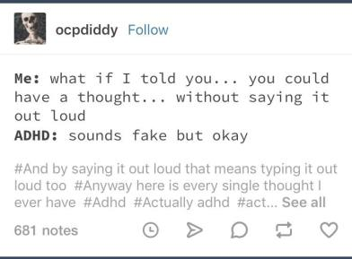 Literally Just A Bunch Of ADHD Memes That Are Hella Relateable